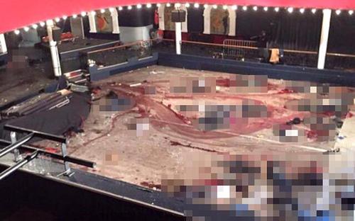 Así quedó El Bataclan luego de los ataques. (Foto: @BartNijman)