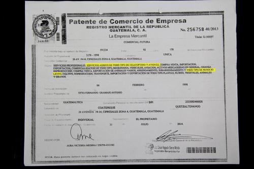 Comercial Futura es una empresa de Otto Fernando Gramajo Antonio.