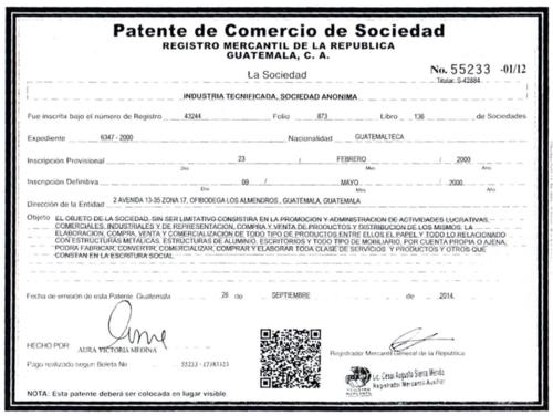 """La compañía distribuye """"todo tipo de productos"""". (Foto: José Miguel Castañeda/Soy502)"""