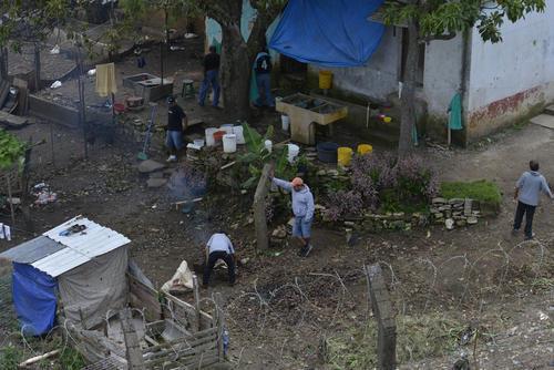 Vista de una de las áreas de la cárcel Pavón ubicada en Fraijanes. (Foto: Archivo/Soy502)