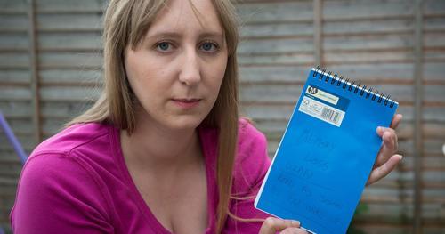 Nikki depende de su diario para traer a memoria algunos acontecimientos, incluyendo su caída. (Foto SWNS)