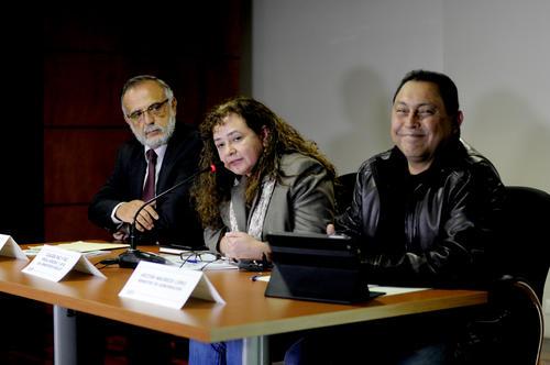 Iván Velásquez, jefe de la Cicig, Claudia Paz, Fiscal General y Mauricio López, Ministro de Gobernación ofrecieron detalles. (Foto: E.Biba/Soy502)