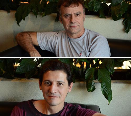 Rafael Saralegui (investigación) y Omar Quiroa (Guión) conversaron con Soy 502 acerca del proyecto. (Foto: Selene Mejía/Soy502)
