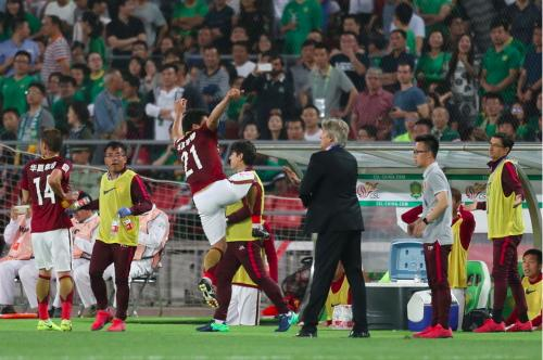 El Hebei China Fortune ganó su partido como visitante por marcador de 4-1. (Foto: Marca)