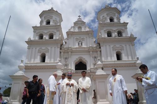Como parte de la 31 conferencia en nuestro país efectuaron una peregrinación en la capital centroamericana de la fe católica. (Foto: Marlon Villeda)