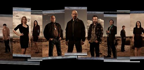 Los personajes de la serie galardonada con los premios Emmy, Breaking Bad.
