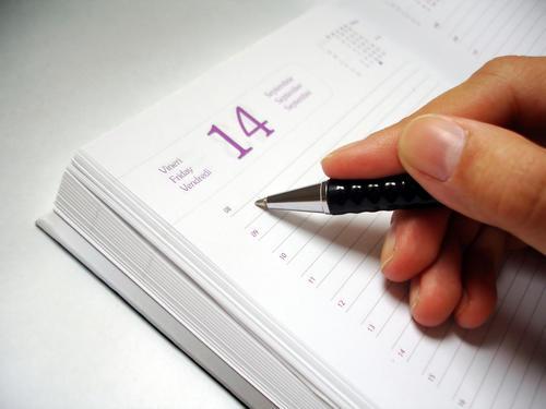 Es importante que utilices una agenda o libreta para apuntar tus pendientes.