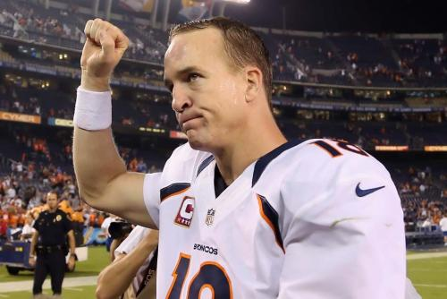 Manning, de 37 años, inició su carrera con los Colts de Indianapolis y actualmente juega con los Broncos de Denver. (Foto: washingtonpost.com)