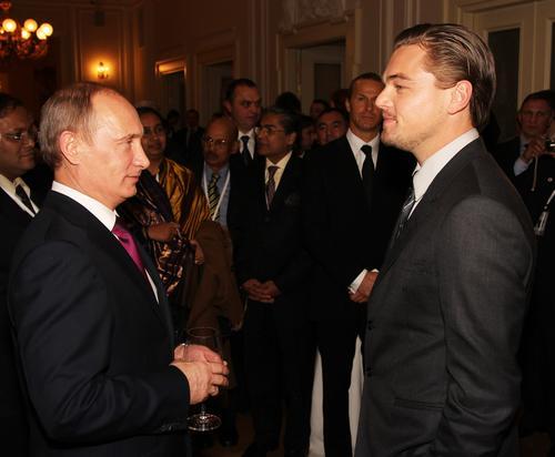 El mandatario ruso es una figura mediática en su país, por lo que sería un gran personaje para el cine, el cual quiere interpretar Leonardo DiCaprio.