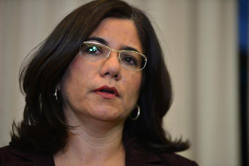 La exmagistrada Claudia Escobar denunció las presiones que recibió del exdiputado Gudy Rivera. (Foto: Archivo/Soy502)