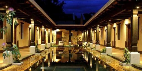 Foto: Porta Hotel Antigua oficial.