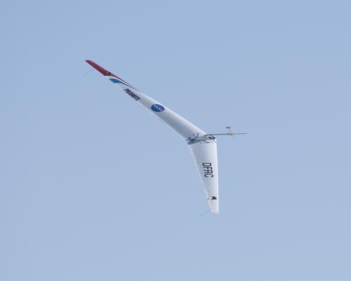 El Prandtl-D hace uno de sus primeros vuelos. (Foto: Nasa)