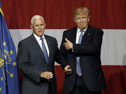 Otro de los posibles compañeros de fórmula de Donald Trump podría ser Mike Pence. (Foto: www.infobae.com)
