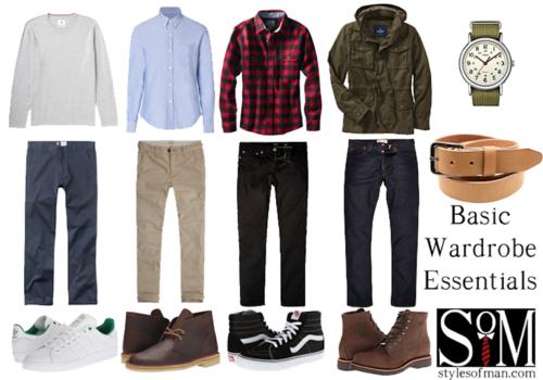Este es un ejemplo de los básicos que no pueden faltar en tu armario. (Foto: Styles of man)