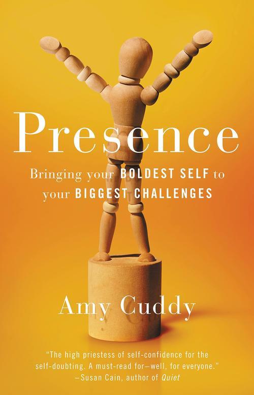 La portada del libro de Amy Cuddy. (Foto: Amazon)