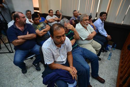 El 16 de abril de 2015, el MP capturó al primer grupo de involucrados en la estructura La Línea, entre ellos a los ex Intendentes de SAT, Carlos Muñoz y Omar Franco.  (Foto: Archivo/Soy502)