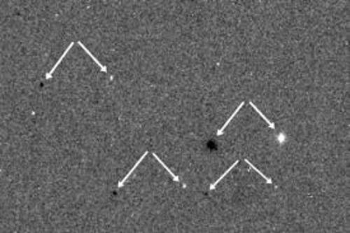 La fechas indican cuales son las estrellas que se ven en la imagen. (Foto: esa.int)