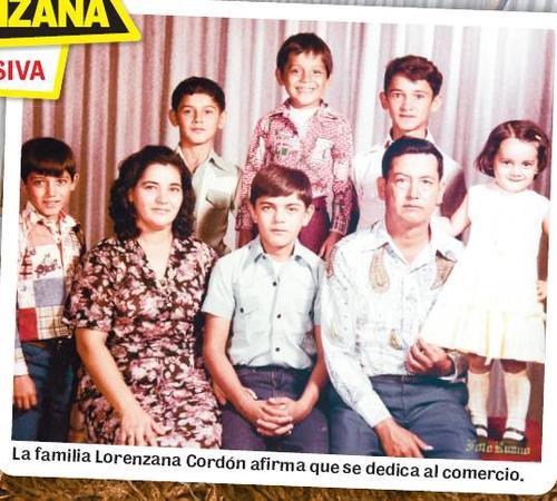 La familia Lorenzana en sus inicios, antes de que iniciara la leyenda. (Foto: Nuestro Diario).