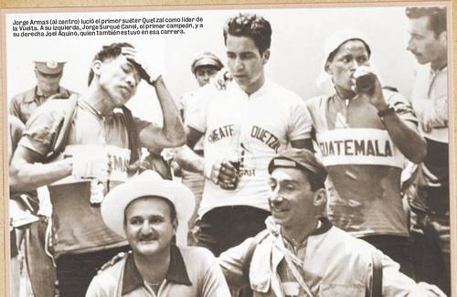 Blas Quaglieri, fue sin duda un gran impulsor del ciclismo guatemaltecos y de pedalístas como Jorge Armas, Jorge Surqué, hasta llegar a Edin Roberto Nova. (Foto: Nuestro Diario)