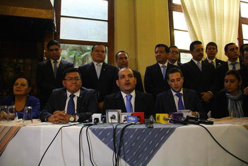 20 diputados electos por el Partido LIDER integrarán el Movimiento Progresista. Foto (Archivo/Soy502)