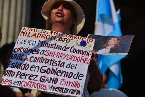 La Ministra de Comunicaciones suma 15 millones de quetzales en contratos con el Estado. (Foto Wilder López/Soy502)