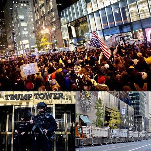 La Torre ha sido escenario de protestas en contra de Donald Trump. (Foto: Infobae)