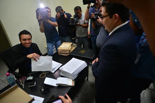 La fiscalía presentó 217 medios de prueba contra Monzón.  (Foto:  Wilder López/Soy502)