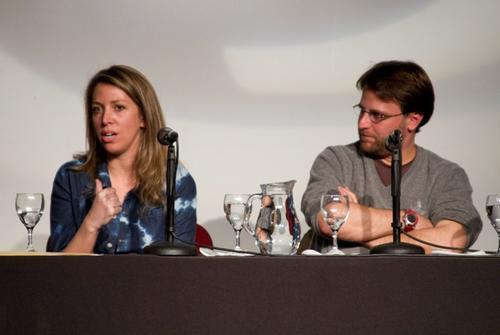 """Nicolás Batlle, productor ejecutivo de """"Wakolda"""", hablará de la película en un foro a celebrarse luego de la proyección. En esta imagen aparece junto a Lucía Puenzo, escritora y directora del film.  (Foto: cic.edu.ar)"""