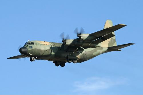 Este es el modelo de avión C130 Hércules, similar al accidentado en Nigeria.
