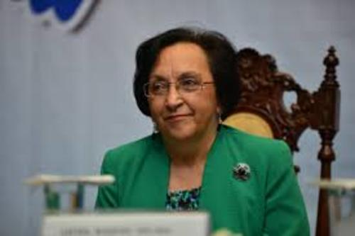 Raquel Zelaya ha sido parte de diferentes instancias de gobierno principalmente en las que velan por acciones de paz.  (Foto: Archivo/Soy502)