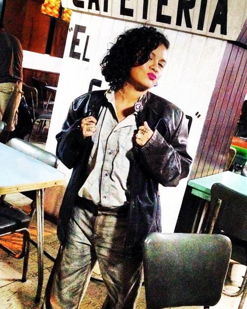 """Rebeca Lane, preparada para su actuación en """"Tal vez"""". (Foto: Rebeca Lane)"""