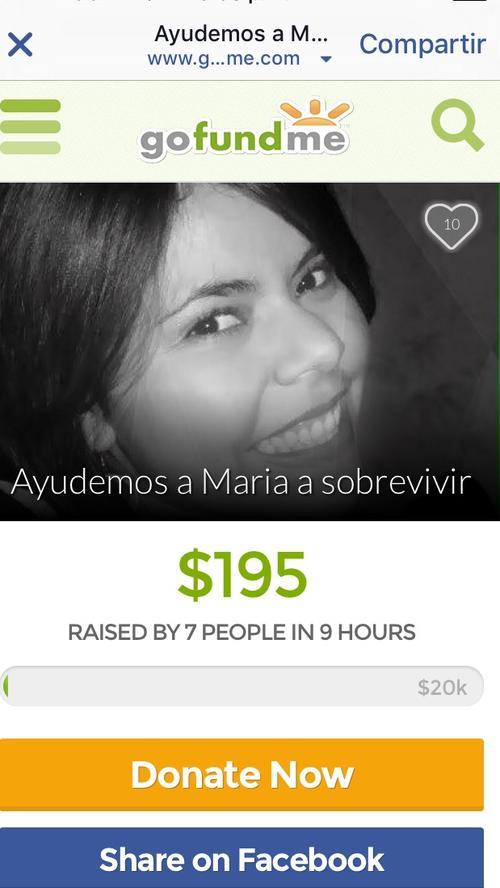Si deseas apoyar esta causa, puedes dirigirte a la agencia bancaria que esté más cerca de ti y lograr que María José pueda superar esta complicación y regresar a su hogar.
