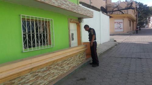 Este es el lugar en el que fue encontrada la recién nacida en San Pedro Sacatepéquez, San Marcos. (Foto: Bomberos Municipales Departamentales)