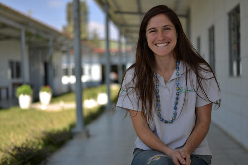 Hanna Sklar lleva trabajando cinco años trabajando en Creamos. (Foto: Wilder López/Soy502)