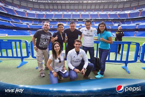 La hazaña se cumplió. Pepsi trajo la experiencia #ViveLaChampions y cumplió el sueño de los amantes del fútbol. (Foto: cortesía Pepsi)