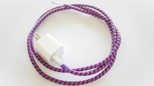 El refuerzo del cable del cargador, puede realizarse con cable de electricidad. (Foto: bbc.com)
