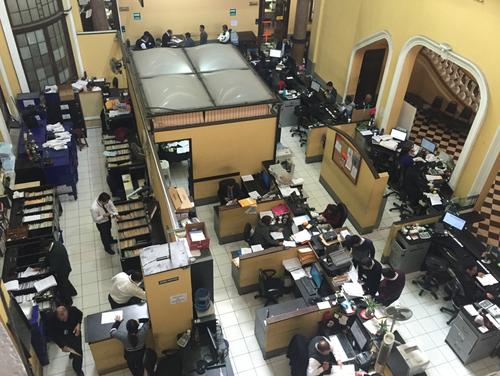 Todos los empleados del Registro ahora deben acudir a la Contraloría a informar dónde están asignados. (Foto: Soy502)