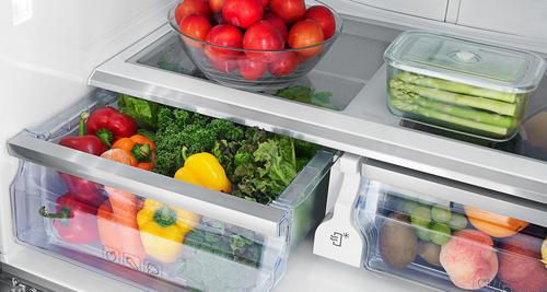 Las verduras y las frutas tienen que estar en los cajones, pero separados. (Foto: Nuevo hogar)