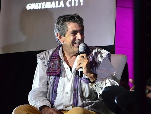 Volaris convocó a un evento para anunciar el proyecto en conjunto con Ricky López. (Foto: Selene Mejía/Soy502)