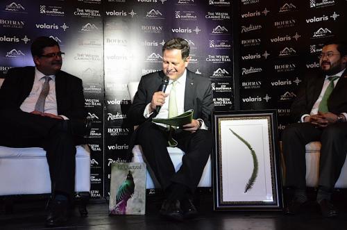 Enrique Beltranena, fundador y CEO de Volaris, es el productor ejecutivo del film. (Foto: Selene Mejía/Soy502)
