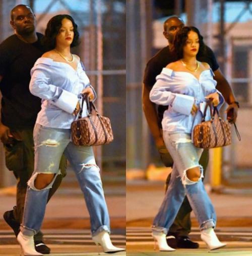 """Se rumoraba un posible embarazo de Rihanna, pero la interprete de """"Work"""" lo negó. (Foto: archivo)"""