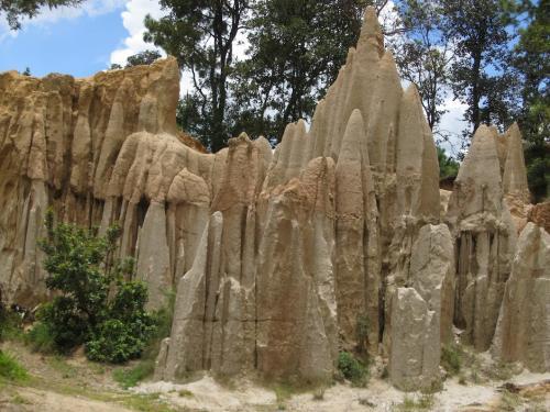 Los riscos de Momostenango son un bello lugar natural. (Foto: ViralTour)