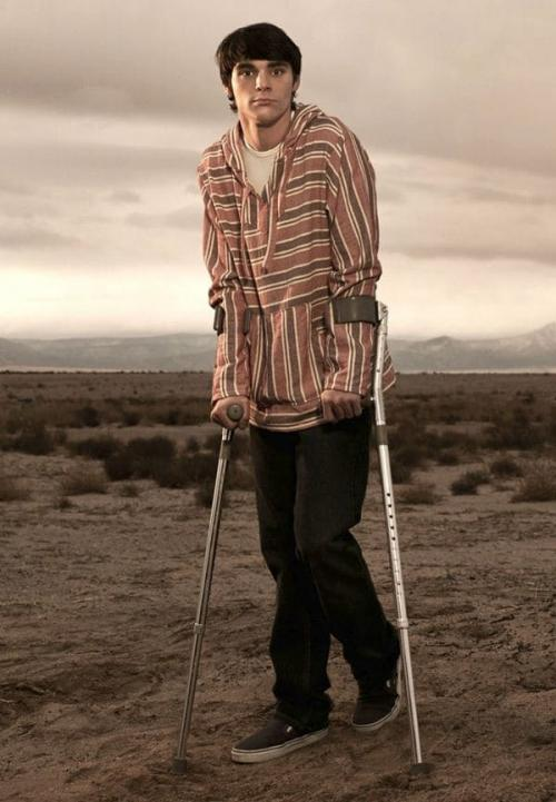"RJ Mittel en su papel en ""Braking Bad"". (Foto Infobae)"