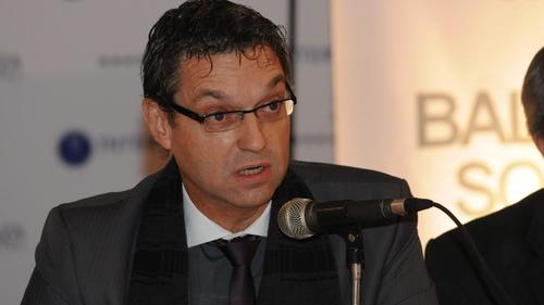 El Director de Kolektor, Hermann Rodolfo Karsten, visitó Guatemala mientras se negociaba la contratación de su empresa. (Foto: La Voz)