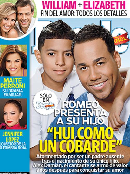 Santos se convirtió en el padre de Alex Damián muy joven, y por miedo abandonó a su hijo y a su novia durante dos años.