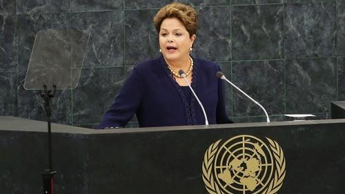 La mandataria del Brasil abordó el caso del espionaje de Estados Unidos