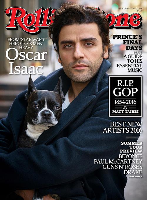 Oscar Isaac es la portada del mes de junio en Rolling Stone. (Foto: Revista)