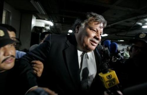 Rubén Darío Morales es vinculado a la desaparición de Q82.8 millones del Congreso. (Foto: EFE)
