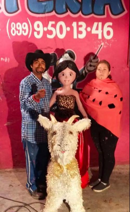 La piñata de Rubí fue hecha en un negocio familiar en Reynosa, Tamaulipas, México. (Foto: www.infobae.com)