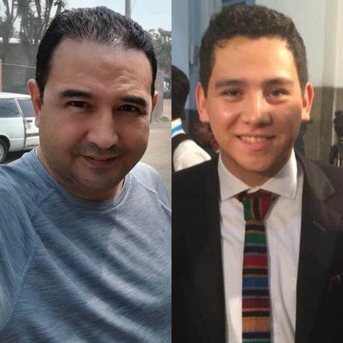 Sammy Morales y José Manuel Morales, se encuentran con arraigo. (Foto: Soy502)